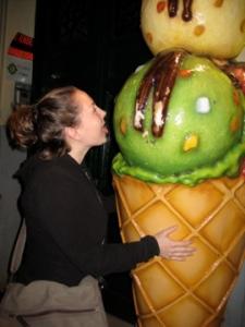 Lindsay loves her some Nice Cream.