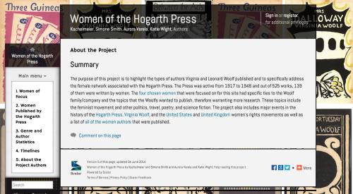 Women of the Hogarth Press