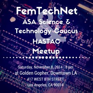 FemTechNet Meetup ad
